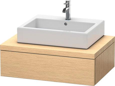 Delos consolle con cassetti per bacinella da appoggio for Consolle per lavabo da appoggio