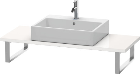 Consolle universali consolle per bacinella da appoggio o for Consolle per lavabo da appoggio