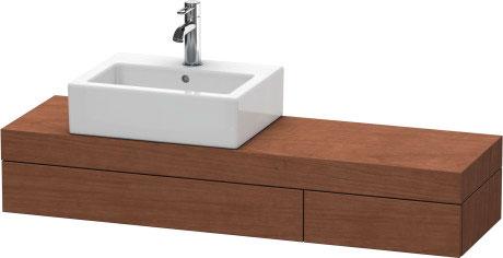 Fogo consolle con cassetti per bacinella da appoggio for Consolle per lavabo da appoggio