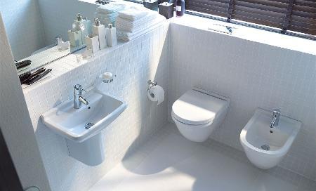 Bagni Piccolissimi Soluzioni : Il bagno per gli ospiti duravit