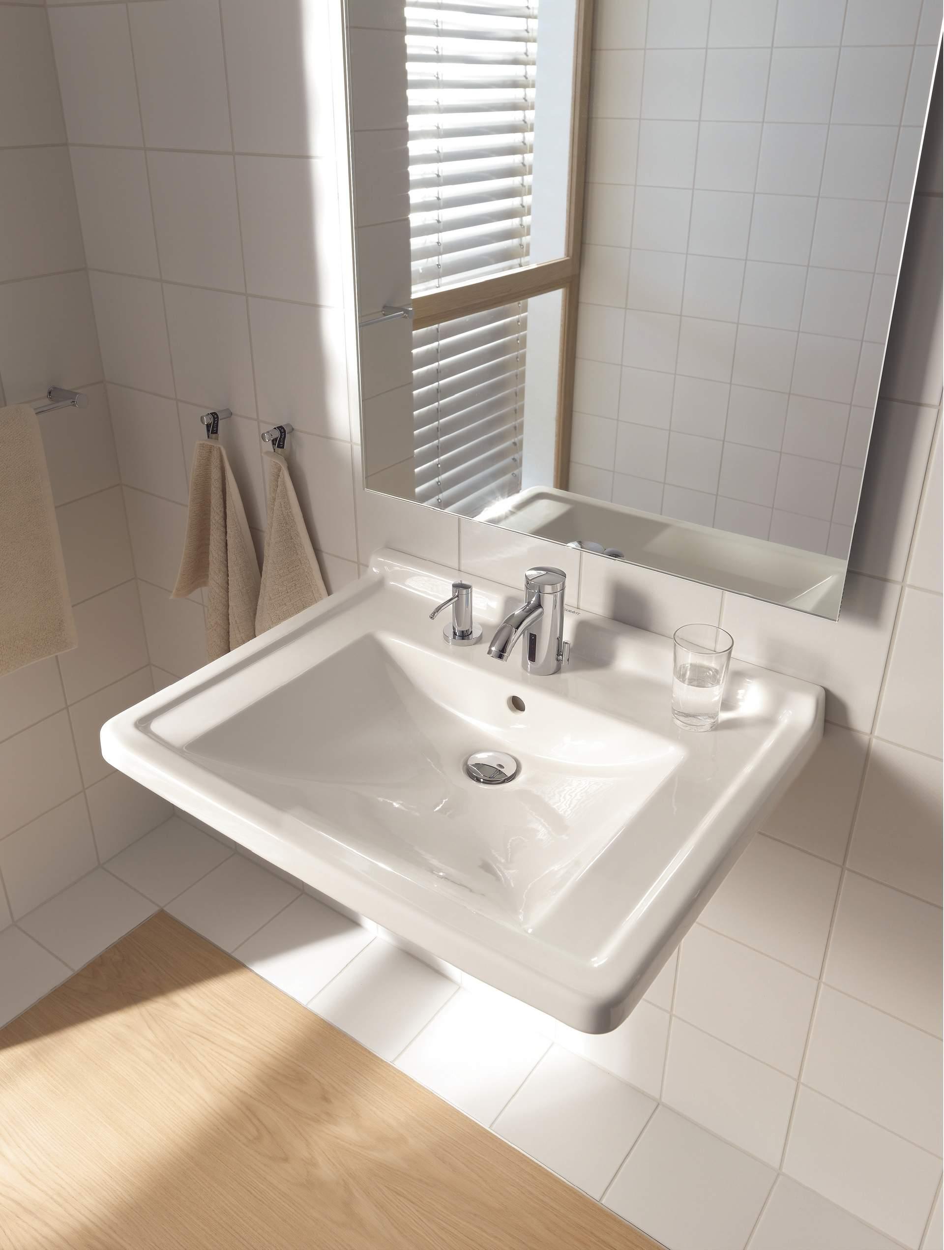 starck 3 lavabo vital 030970 duravit. Black Bedroom Furniture Sets. Home Design Ideas